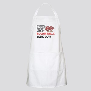 Party Until Boudin Balls Apron