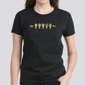 May the Ice Cream Women's Dark T-Shirt