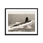 USS HARDHEAD Framed Panel Print