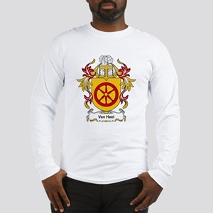 Van Heel Coat of Arms Long Sleeve T-Shirt
