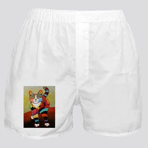 New Cat of Many Colors Boxer Shorts