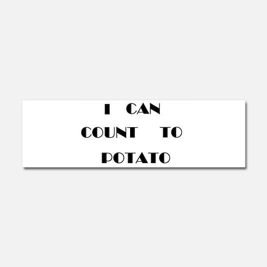 Potato Car Magnet 10 x 3