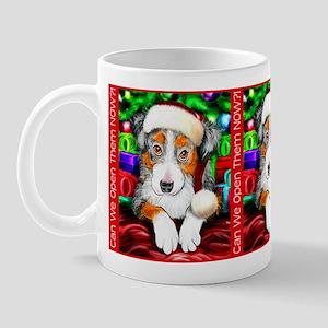 Aussie Santa Pup Mug