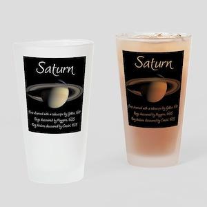Saturn Drinking Glass