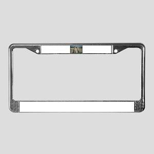 Cheetah Love License Plate Frame