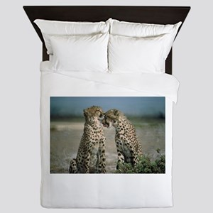 Cheetah Love Queen Duvet