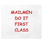 mailman King Duvet