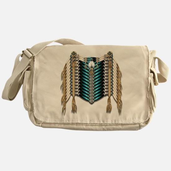Native American Breastplate 7 Messenger Bag