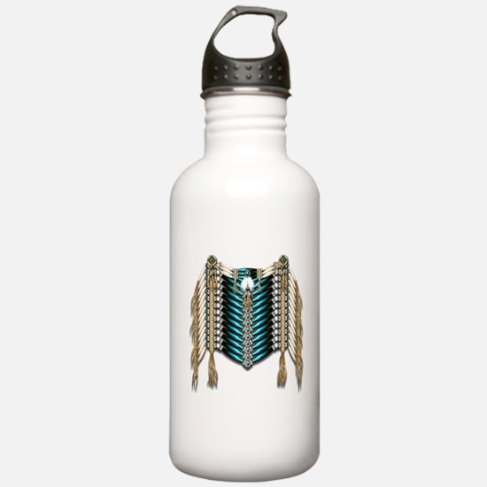 Native American Breastplate 7 Water Bottle