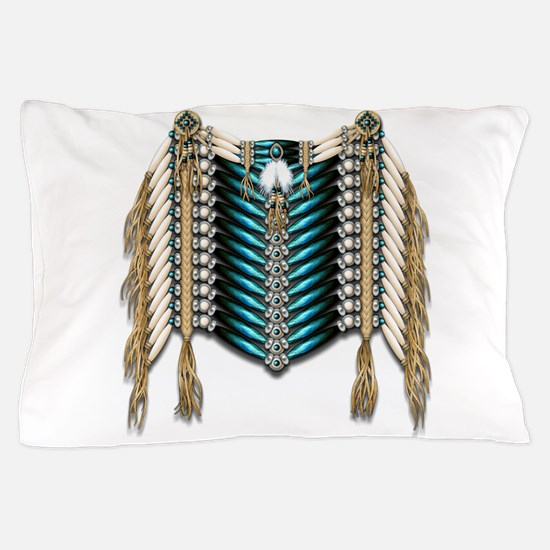 Native American Breastplate 7 Pillow Case