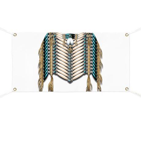 Native American Breastplate 8 Banner