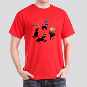 Woof Arf Bark Dark T-Shirt