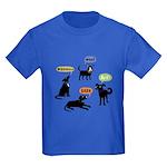 Woof Arf Bark Kids Dark T-Shirt