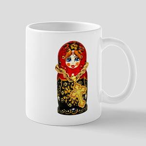 Russian Matryoshka Nesting Doll Mug