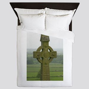 Irish Celtics Cross Queen Duvet