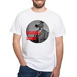 Abe Horse White T-Shirt