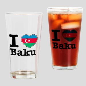 I love Baku Drinking Glass