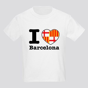 I love Barcelona Kids Light T-Shirt