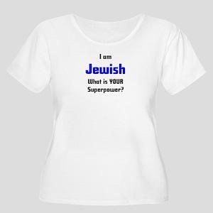 i am jewish Women's Plus Size Scoop Neck T-Shirt