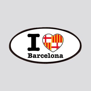 I love Barcelona Patches