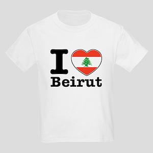 I love Beirut Kids Light T-Shirt