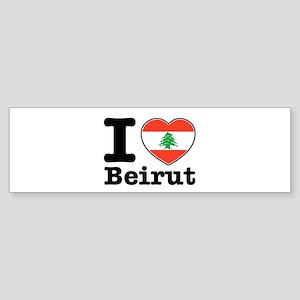 I love Beirut Sticker (Bumper)
