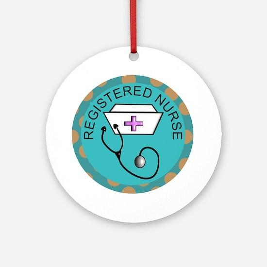 Nurse Sub-Specialties Ornament (Round)
