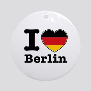 I love Berlin Ornament (Round)