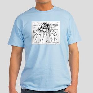Diagram Of Jellyfish Light T-Shirt