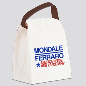 Mondale Ferraro Canvas Lunch Bag