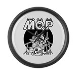 MQP Drum Large Wall Clock