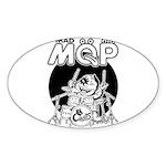 MQP Drum Sticker (Oval 10 pk)