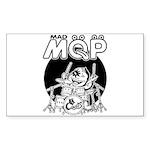 MQP Drum Sticker (Rectangle 10 pk)