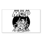 MQP Drum Sticker (Rectangle 50 pk)