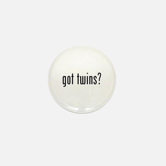 Got twins? Mini Button