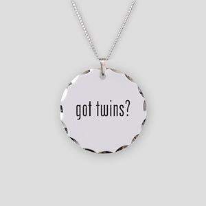 Got twins? Necklace Circle Charm