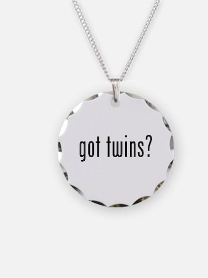 Got twins? Necklace