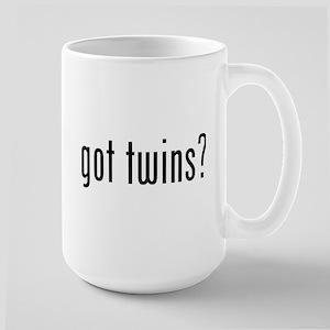 Got twins? Large Mug