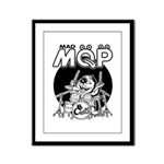 MQP Drum Framed Panel Print