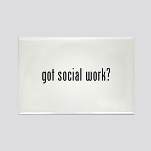 Got social work? Rectangle Magnet