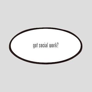 Got social work? Patches