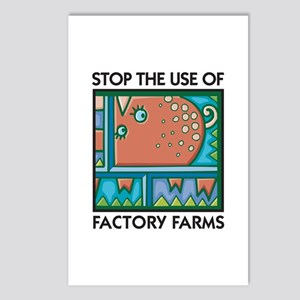 Stop the Use of Factory Farms Postcards (Package o