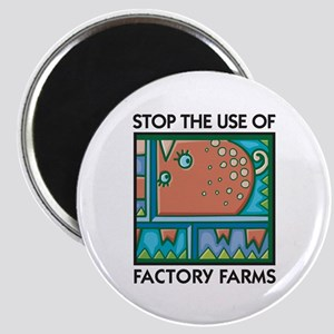 Stop the Use of Factory Farms Magnet
