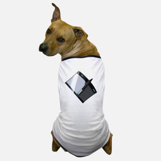 Funny Tablet Dog T-Shirt