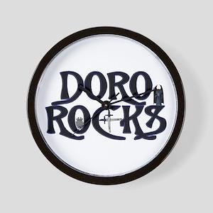 Doro Rocks Wall Clock