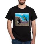 Octopus vs SCUBA Diver Dark T-Shirt