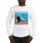 Octopus vs SCUBA Diver Long Sleeve T-Shirt