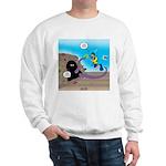 Octopus vs SCUBA Diver Sweatshirt