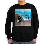 Octopus vs SCUBA Diver Sweatshirt (dark)
