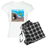 Octopus vs SCUBA Diver Women's Light Pajamas